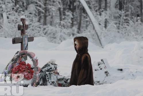 13 января.  Северное кладбище Перми.  222 квартал.  Фото: Алексей ЖУРАВЛЕВ.